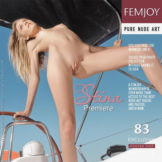Stina - `Premiere` - for FEMJOY
