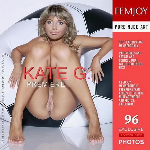 Kate G - `Premiere` - by Peter Olssen for FEMJOY