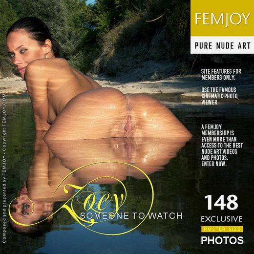 Zoey - `Someone To Watch` - by Santiago Aztek for FEMJOY