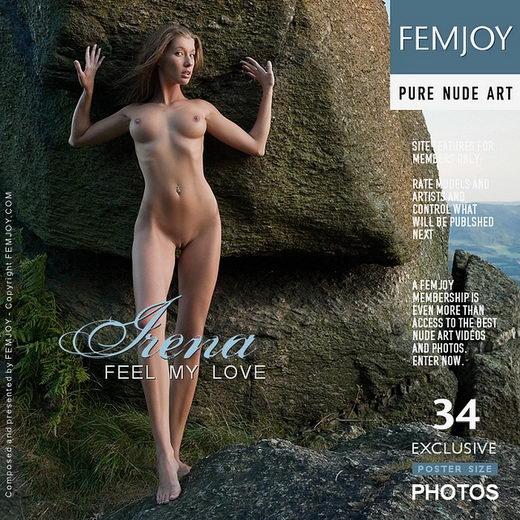Irena - `Feel My Love` - by Stefan Soell for FEMJOY