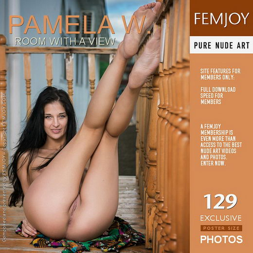 Pamela W - `Room With A View` - by Alexandr Petek for FEMJOY
