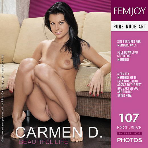Carmen D - `Beautiful Life` - by Peter Olssen for FEMJOY