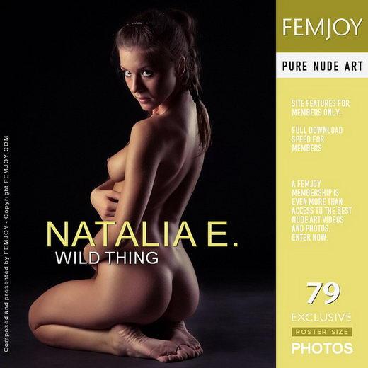 Natalia E - `Wild Thing` - by Vaillo for FEMJOY