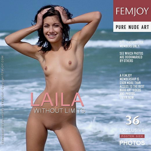 Laila - `Without Limits` - by Lorenzo Renzi for FEMJOY