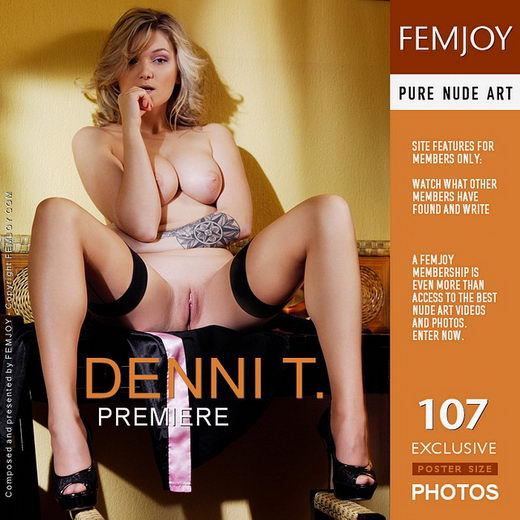 Denni T - `Premiere` - by Tony Murano for FEMJOY