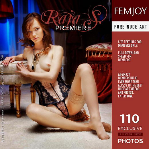Raja S - `Premiere` - by Tony Murano for FEMJOY