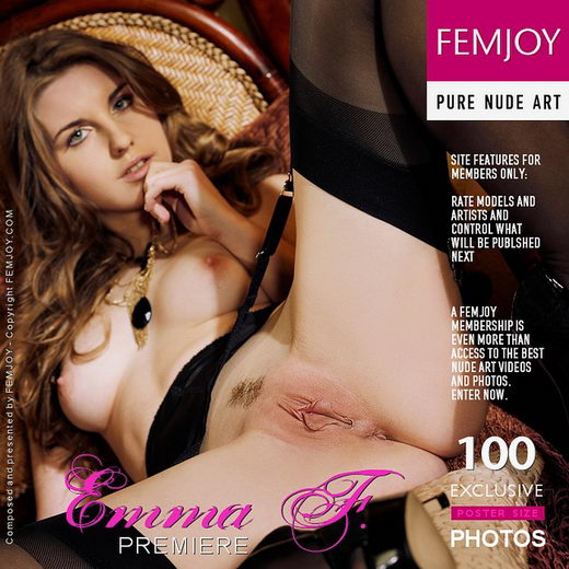 Emma F - `Premiere` - by Tony Murano for FEMJOY