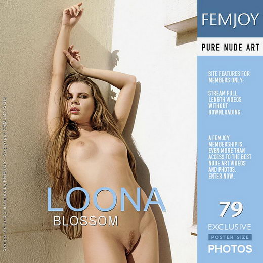 Loona - `Blossom` - by MG for FEMJOY