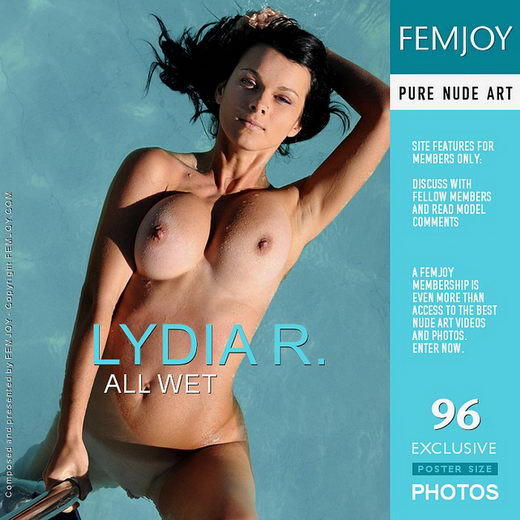Lydia R - `All Wet` - by Sven Wildhan for FEMJOY
