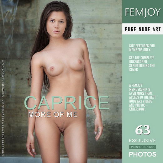Caprice - `More of Me` - by Andrej Lupin for FEMJOY