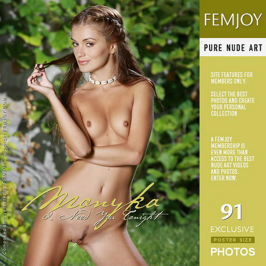 Monyka - `I Need You Tonight` - by Peter Olssen for FEMJOY