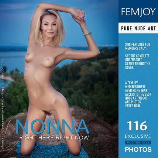 Nonna - `Right Here Right Now` - by Aleksandr Petek for FEMJOY