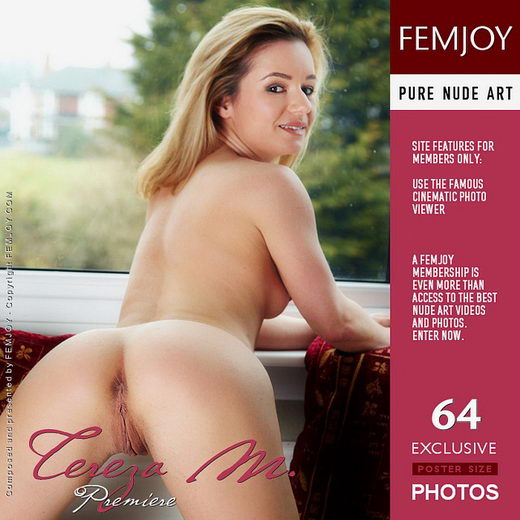Tereza M - `Premiere` - by Leon for FEMJOY
