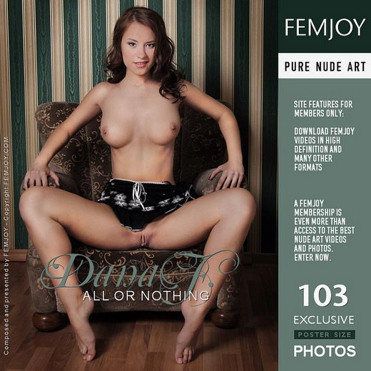 Dana F - `All Or Nothing` - by Domingo for FEMJOY