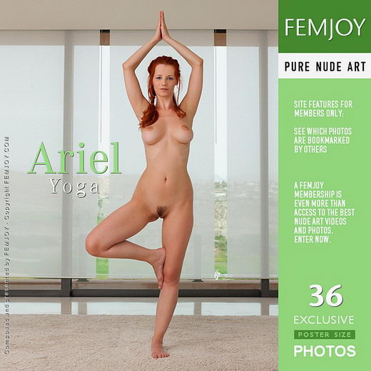 Ariel - `Yoga` - by Stefan Soell for FEMJOY