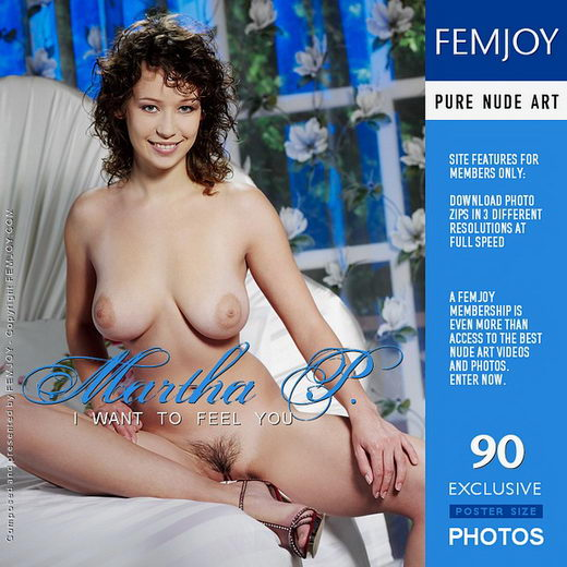 Martha P - `I Want To Feel You` - by Tony Murano for FEMJOY