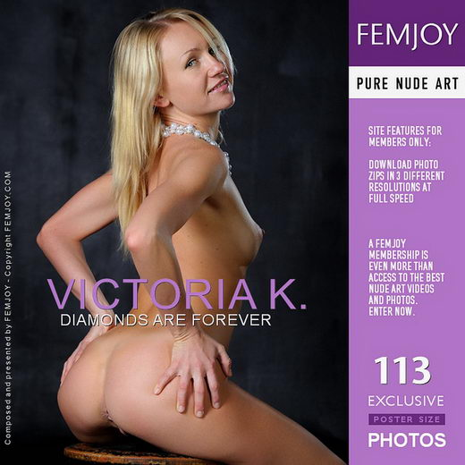 Victoria K - `Diamonds Are Forever` - by Platonoff for FEMJOY