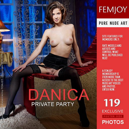 Danica - `Private Party` - by Tony Murano for FEMJOY