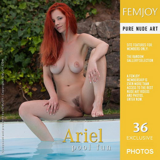 Ariel - `pool fun` - by Stefan Soell for FEMJOY