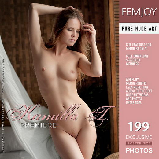 Kamilla T - `Premiere` - by Kiselev for FEMJOY