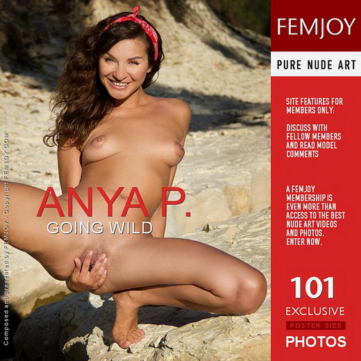 Anya P - `Going Wild` - by Santiago Aztek for FEMJOY