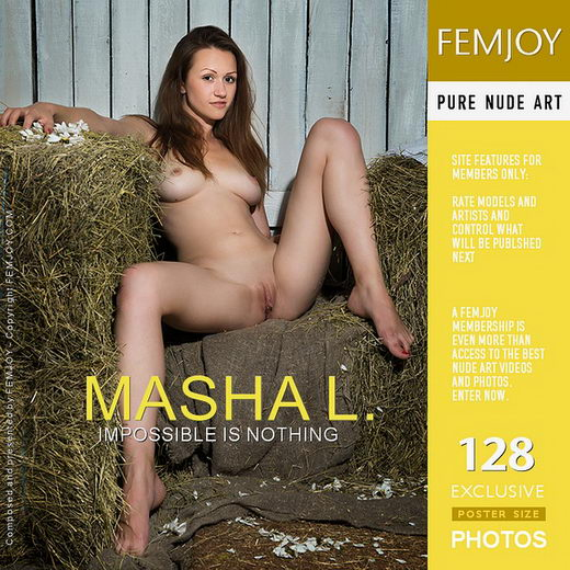 Masha L - `Impossible Is Nothing` - by Alexandr Petek for FEMJOY