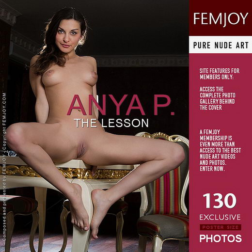 Anya P - `The Lesson` - by Alexandr Petek for FEMJOY