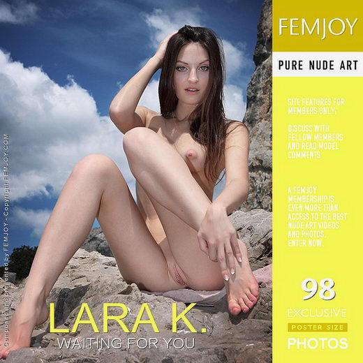 Lara K - `Waiting For You` - by Valery Anzilov for FEMJOY