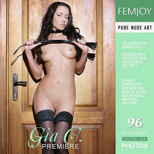 Gia C - `Premiere` - by Peter Olssen for FEMJOY