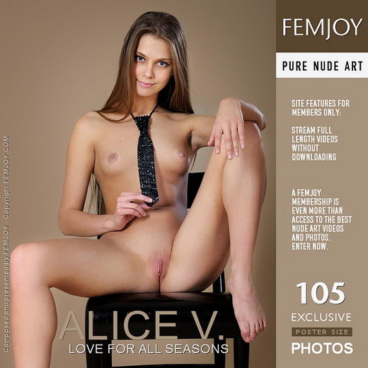 Alice V - `Love For All Seasons` - by Platonoff for FEMJOY