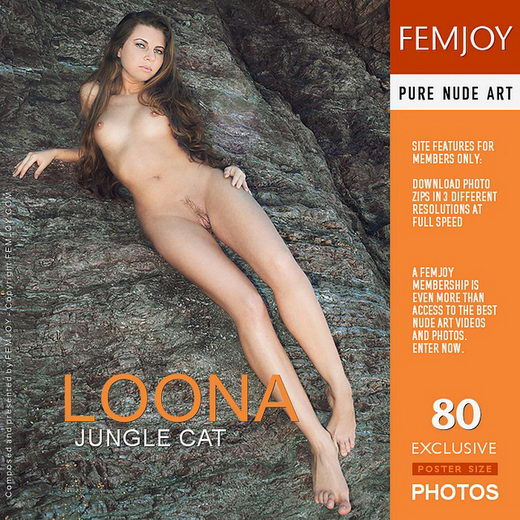 Loona - `Jungle Cat` - by MG for FEMJOY