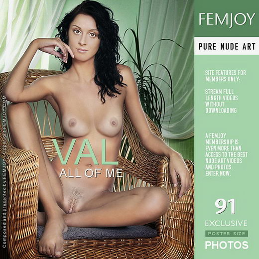 Val - `All Of Me` - by Peter Olssen for FEMJOY