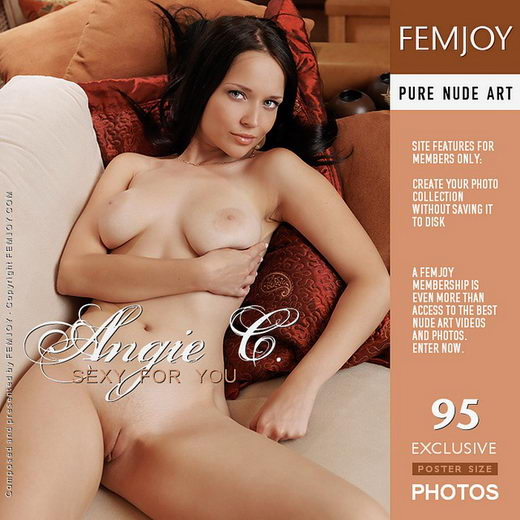 Angie C - `Sexy For You` - by Peter Olssen for FEMJOY