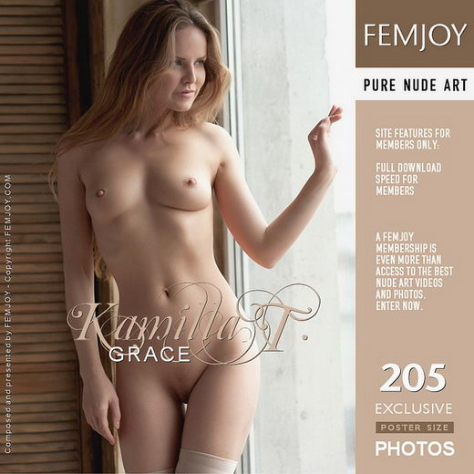 Kamilla T - `Grace` - by Kiselev for FEMJOY