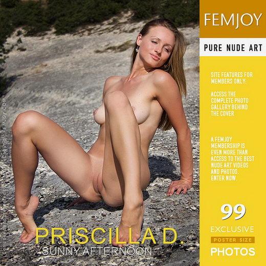 Priscilla D - `Sunny Afternoon` - by Santiago Aztek for FEMJOY