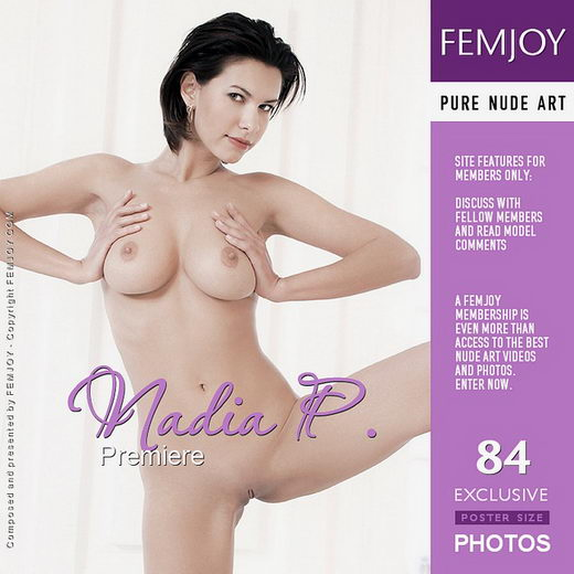 Nadia P - `Premiere` - by MG for FEMJOY