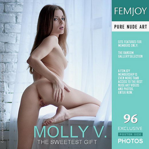 Molly V - `The Sweetest Gift` - by Kiselev for FEMJOY