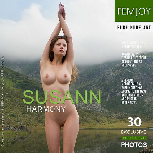 Susann - `Harmony` - by Stefan Soell for FEMJOY
