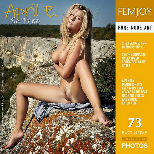 April E - `So Free` - by Valery Anzilov for FEMJOY
