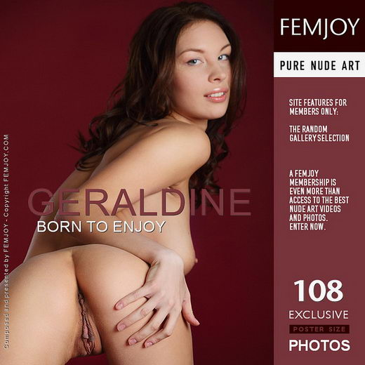 Geraldine - `Born To Enjoy` - by Platonoff for FEMJOY