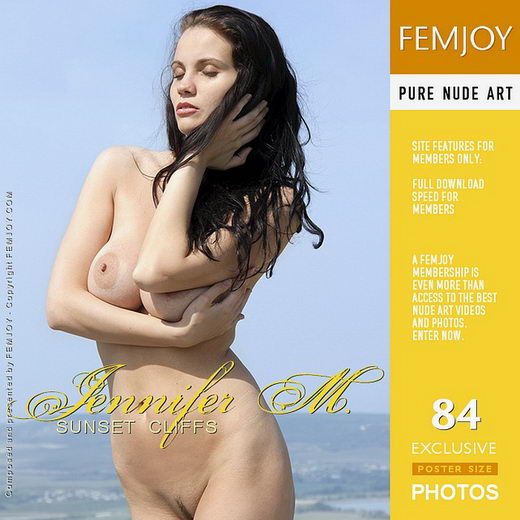 Jennifer M - `sunset cliffs` - by Santiago Aztek for FEMJOY