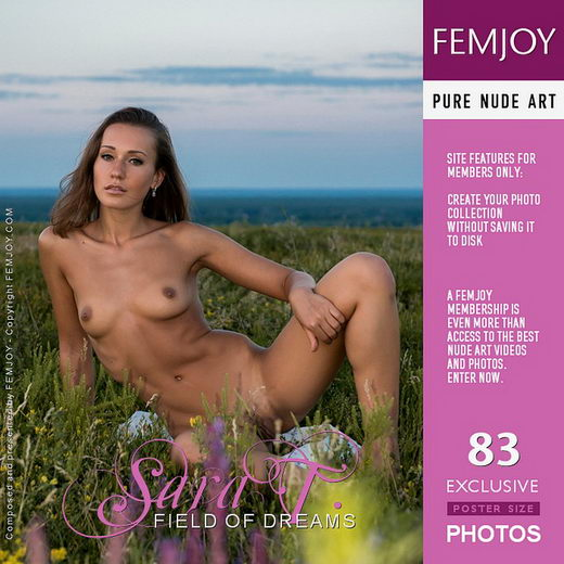 Sara T - `field of dreams` - by FEMJOY Exclusive for FEMJOY