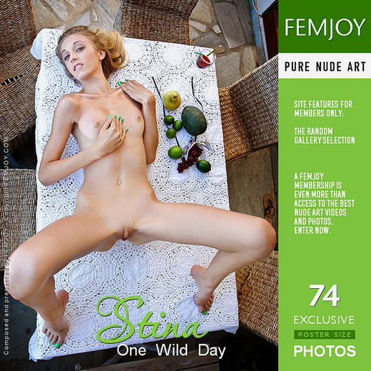 Stina - `One Wild Day` - by MG for FEMJOY