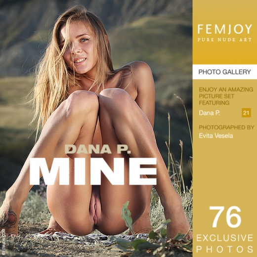 Dana P in Mine gallery from FEMJOY by Evita Vesela