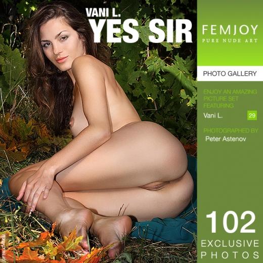 Vani L in Yes Sir gallery from FEMJOY by Peter Astenov