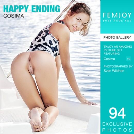 Cosima in Happy Ending gallery from FEMJOY by Sven Wildhan