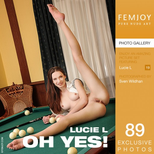 Lucie L - `Oh Yes!` - by Sven Wildhan for FEMJOY
