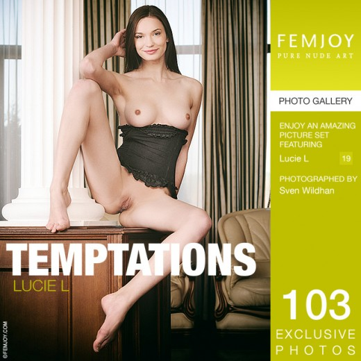 Lucie L - `Temptations` - by Sven Wildhan for FEMJOY
