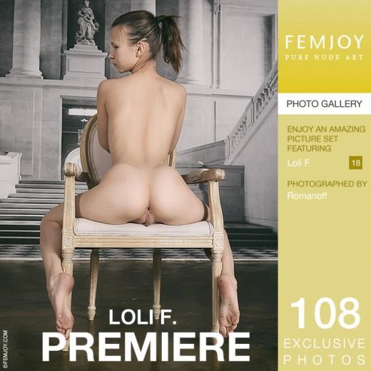 Loli F in Premiere gallery from FEMJOY by Romanoff