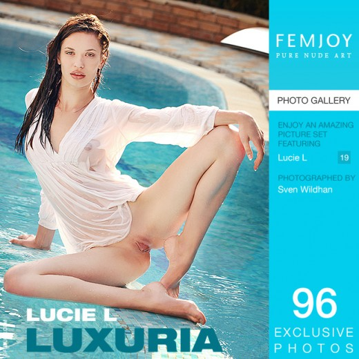 Lucie L in Luxuria gallery from FEMJOY by Sven Wildhan